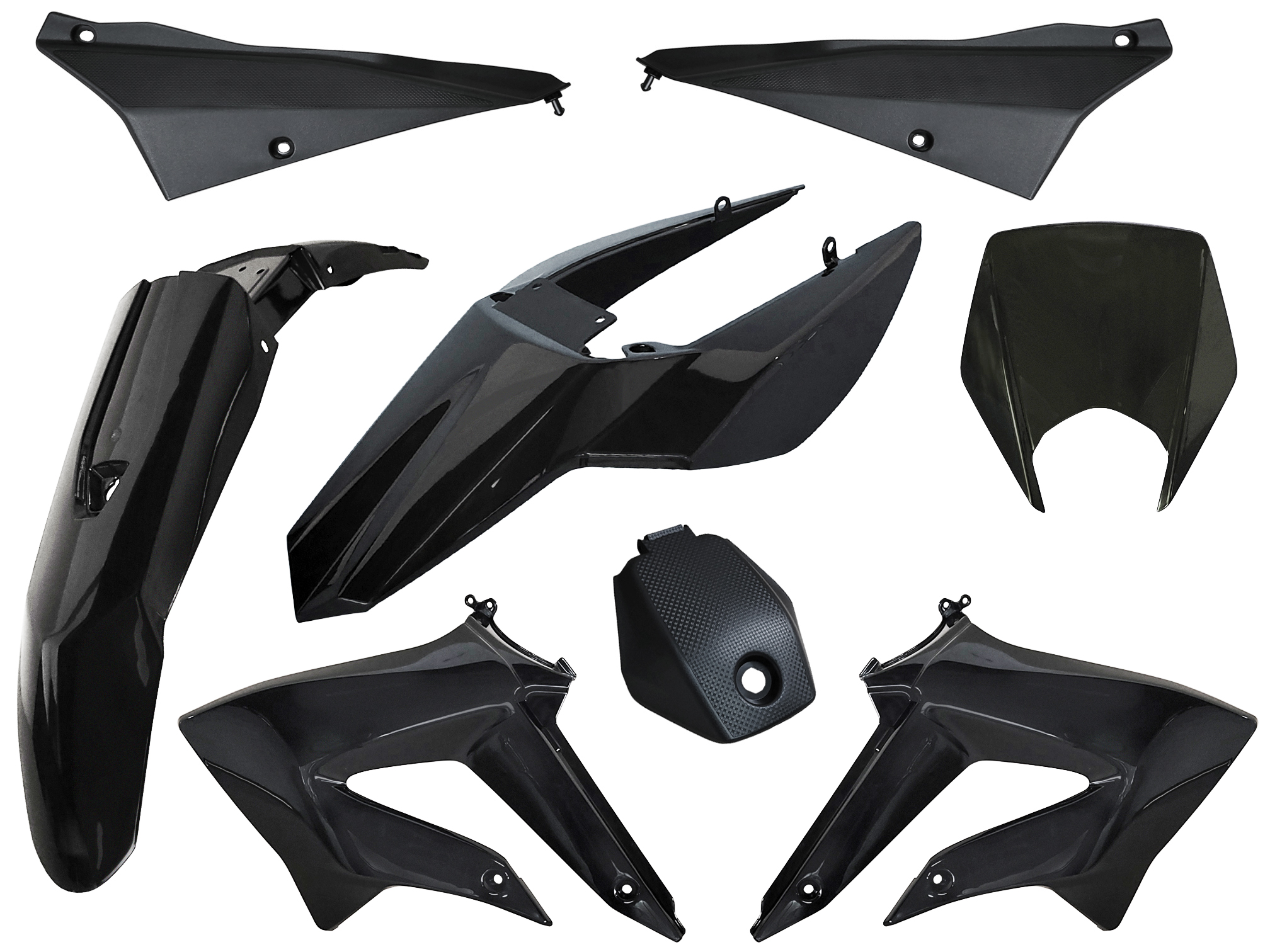 kit car nages derbi drd xtreme racing gilera smt rcr noir. Black Bedroom Furniture Sets. Home Design Ideas