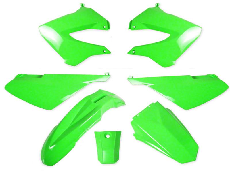 car nages derbi senda gilera smt rcr 2000 2010 vert kawa carrosserie plastiques. Black Bedroom Furniture Sets. Home Design Ideas