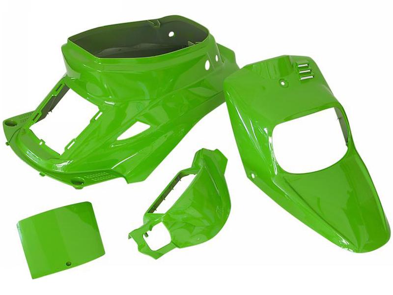 kit car nages vert mbk booster yamaha bws avant 2004. Black Bedroom Furniture Sets. Home Design Ideas