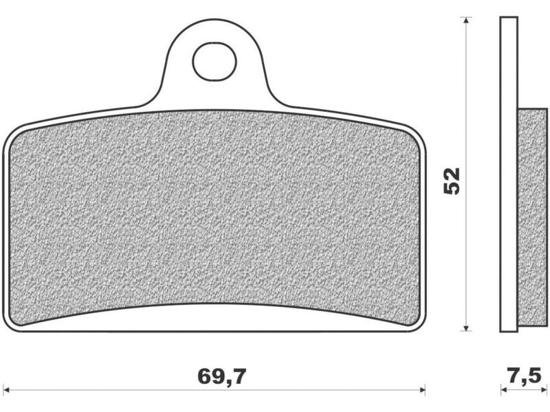 plaquettes de frein aprilia rs4 derbi gpr peugeot xr7 magpower. Black Bedroom Furniture Sets. Home Design Ideas